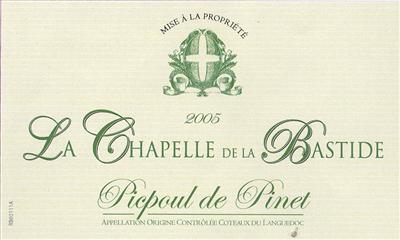 La Chapelle de la Bastide picpoul review
