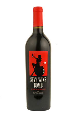 """Sexy Wine Bomb """"Blends Have More Fun"""" red wine"""