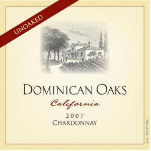 Dominican Oaks unoaked chardonnay