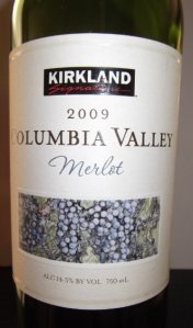 Kirkland Columbia Valley merlot review