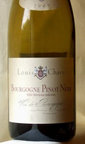 Louis Chavy Bourgogne pinot noir review