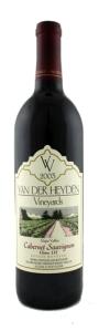 Van Der Heyden cabernet
