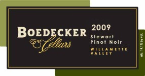 Boedecker Cellars pinot noir review